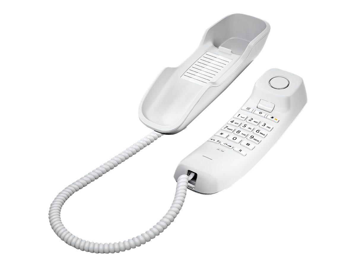 Gigaset DA210 - téléphone filaire - noir