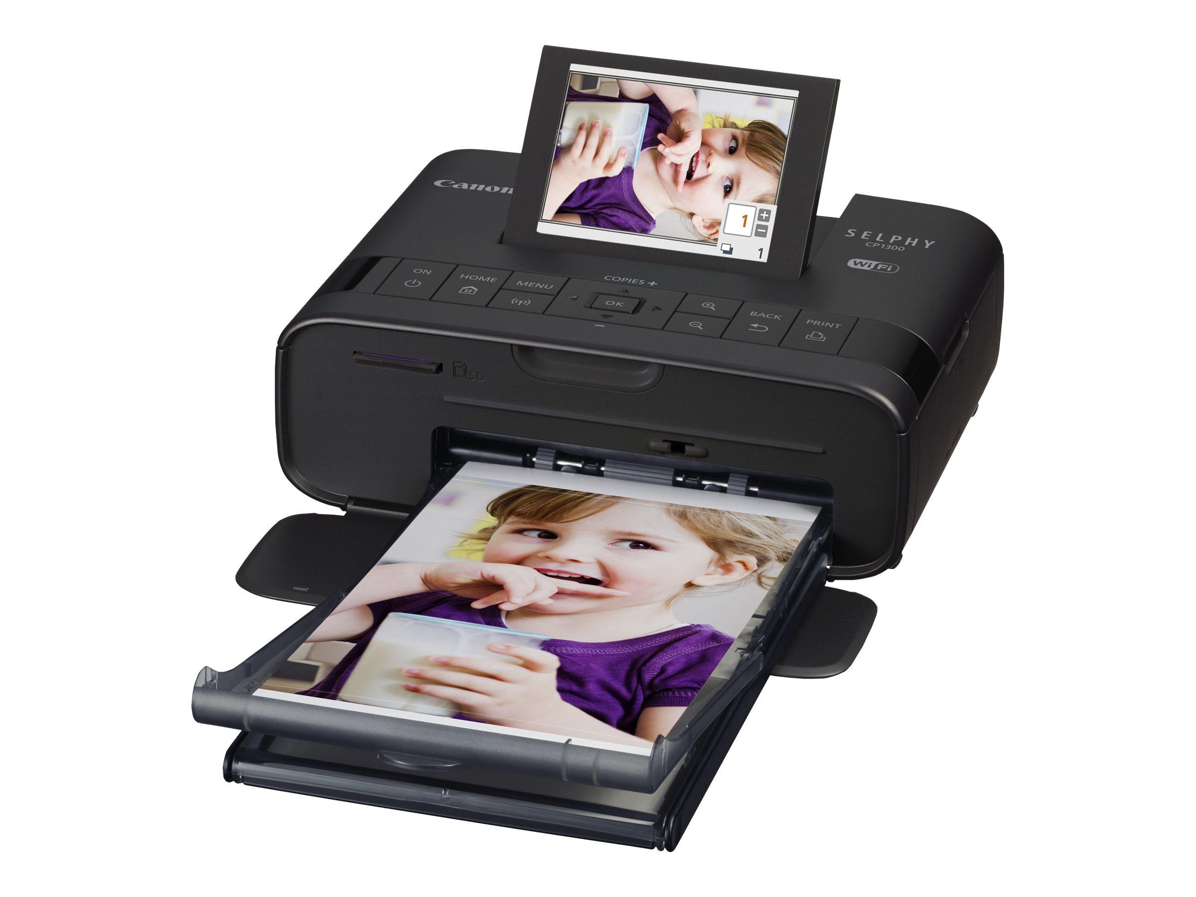 Canon SELPHY CP1300 - imprimante photo jet d'encre couleur - Wifi, USB - portable