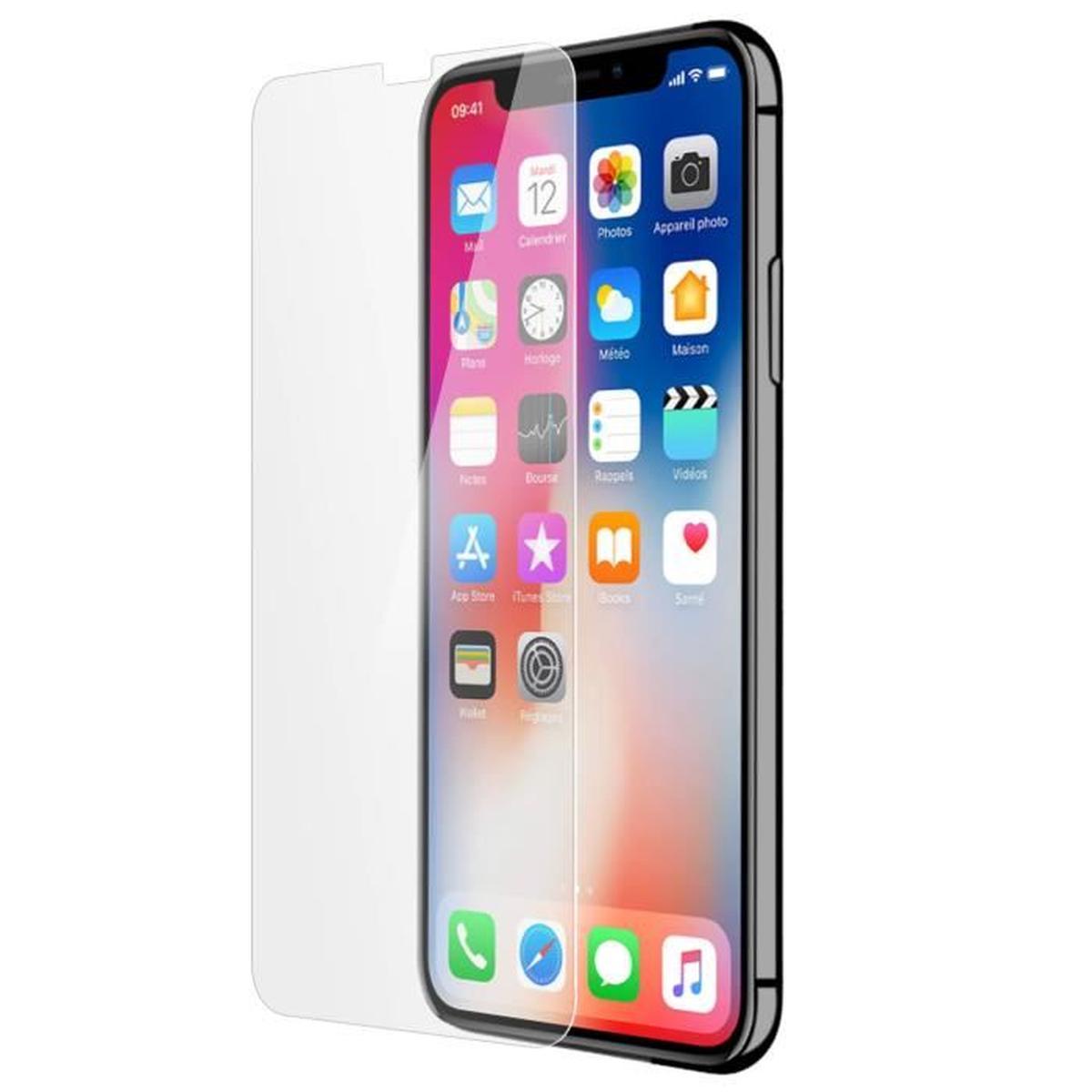 Force Glass - Protection d'écran - verre trempé pour iPhone X