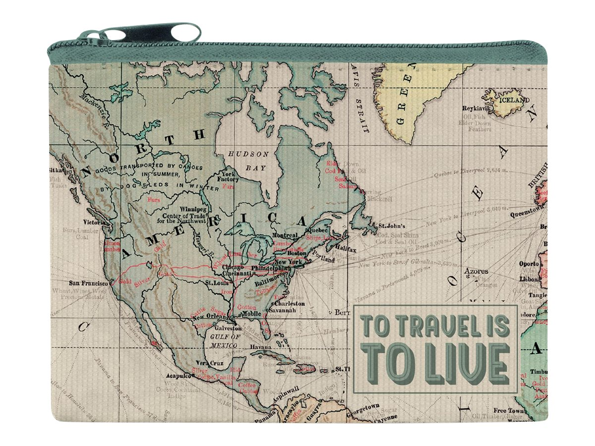 Legami - Porte monnaie - motif map