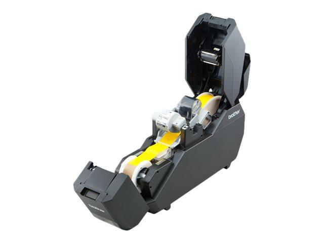 Brother TP-M5000N - Étiqueteuse - imprimante d'étiquettes monochrome - impression par transfert thermique