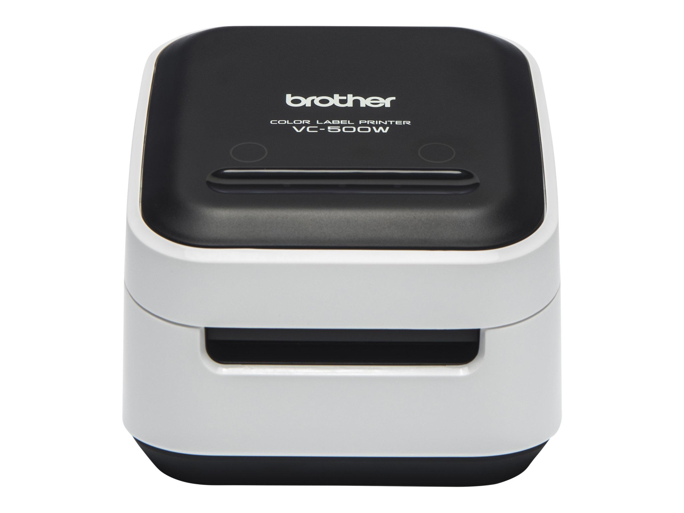 Brother - imprimante d'étiquettes couleur VC-500W - wifi