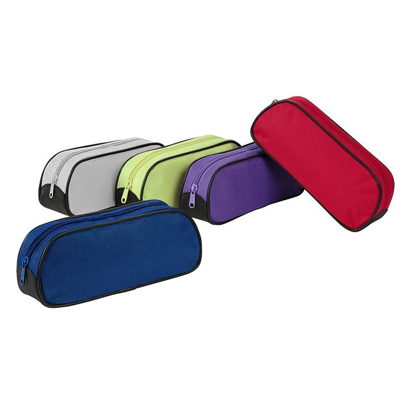 Trousse rectangulaire Street - 1 compartiment - 5 coloris disponibles - Viquel