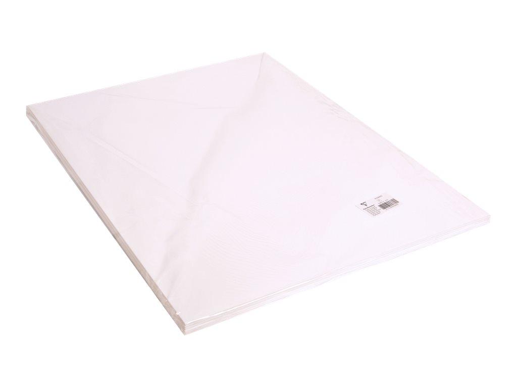 Clairefontaine - Carton mousse - 6 feuilles de 50 x 65 cm - 3 mm - blanc