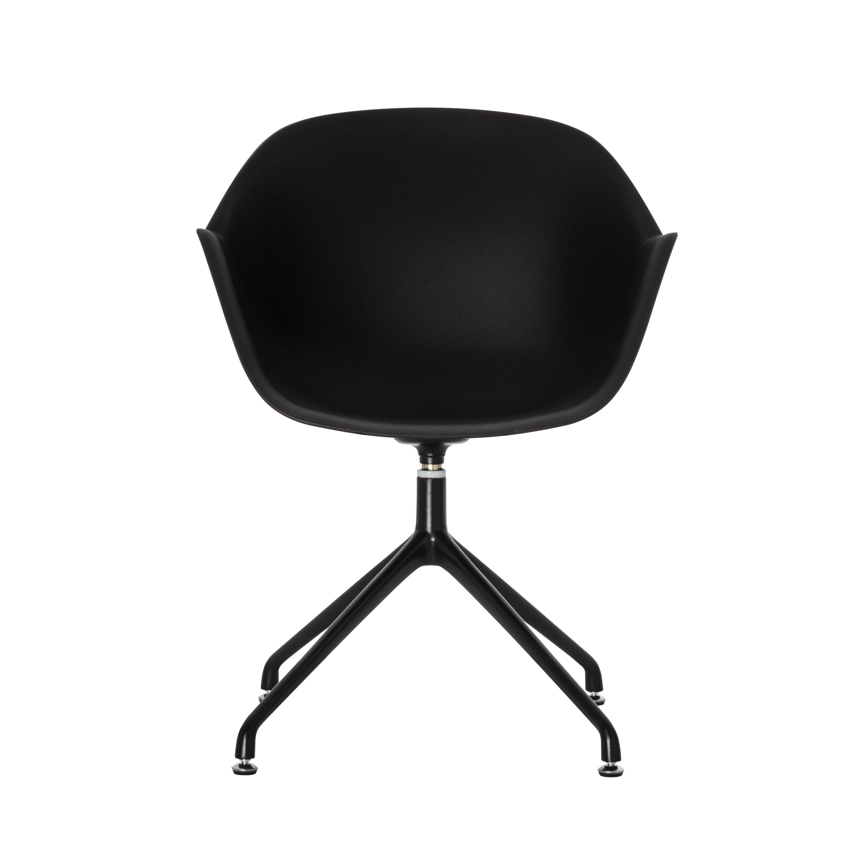 Chaise MOON - noir