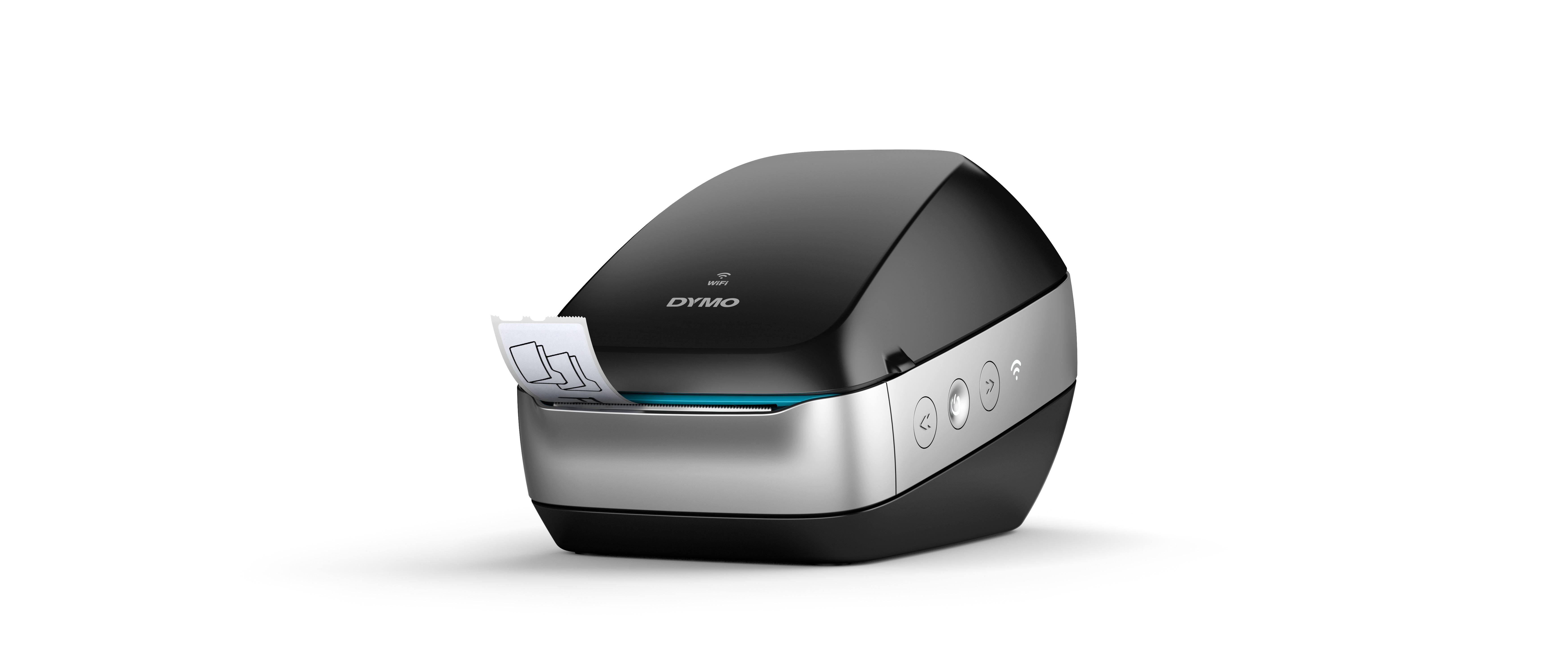 Dymo LabelWriter Wireless  -  Étiqueteuse  - imprimante d'étiquettes wifi monochrome  - impression thermique directe -  noire