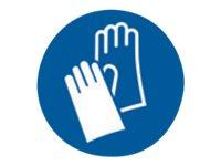 Pickup - Pictogramme rond - Gants de protection obligatoires - 150 mm