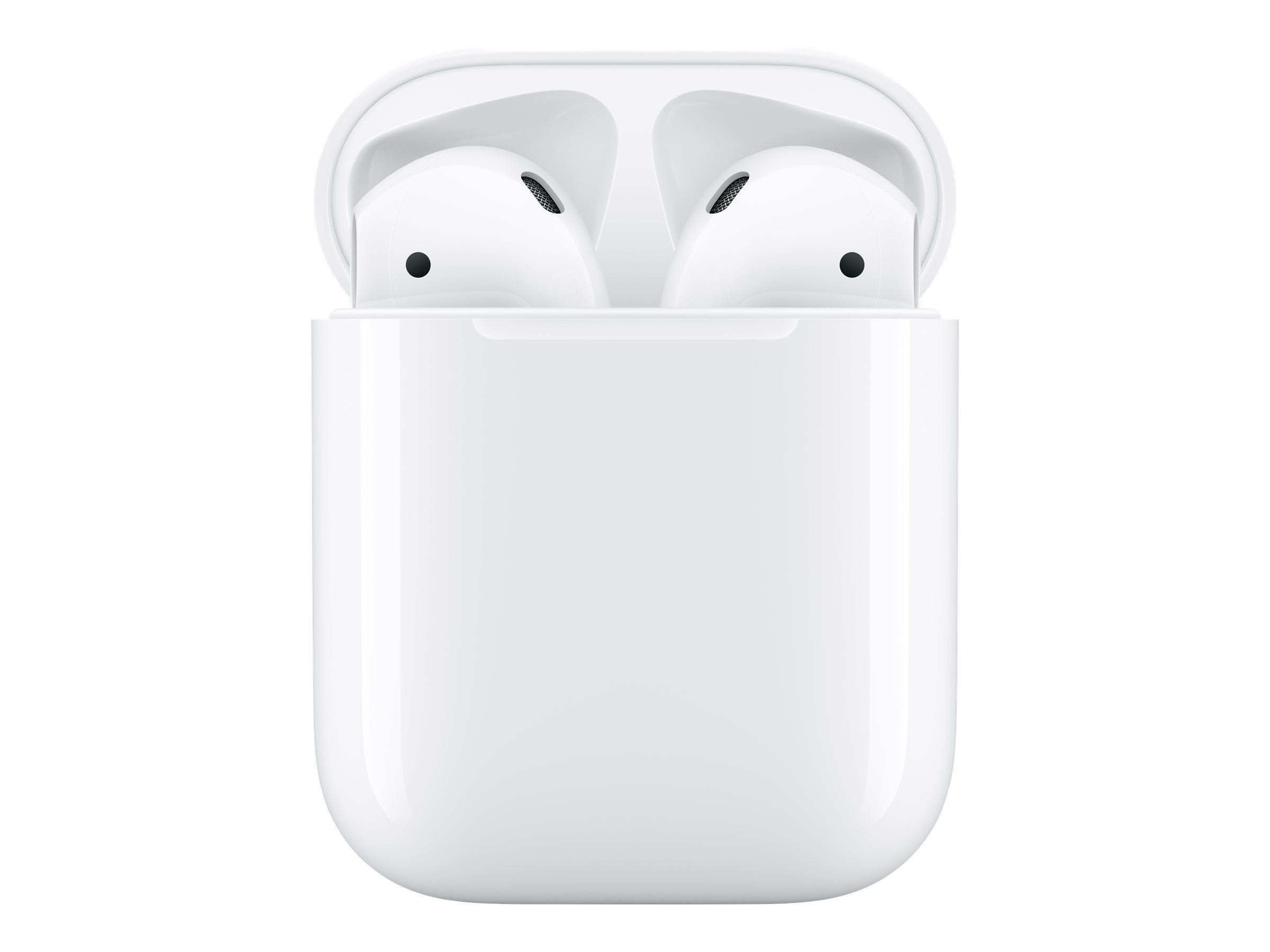 APPLE Airpods 2 - Ecouteurs sans fil bluetooth avec boitier de charge filaire pour iPhone/iPad/Mac