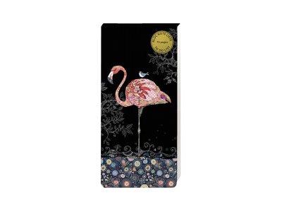 Bug Art - Bloc notes/to do list aimanté - 75 pages - flamant rose