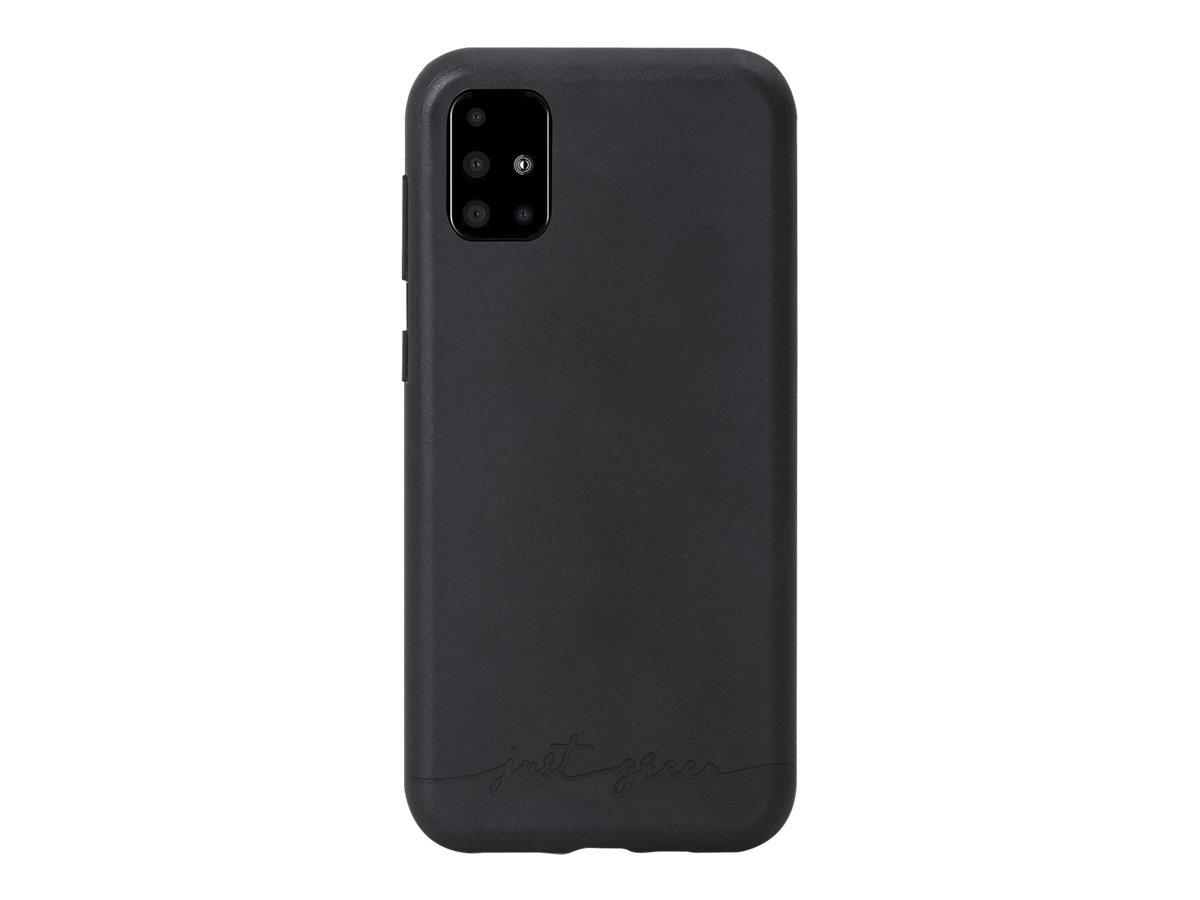 Just Green - Coque de protection pour Samsung A51 - noir