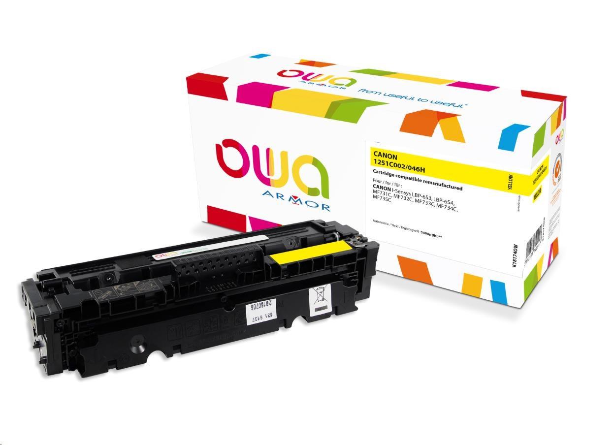 Canon 046H - remanufacturé Owa K18174OW - jaune - cartouche laser