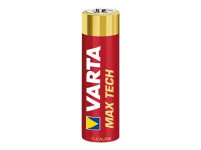 Varta Max Tech 4706 - batterie 12 x type AA Alcaline
