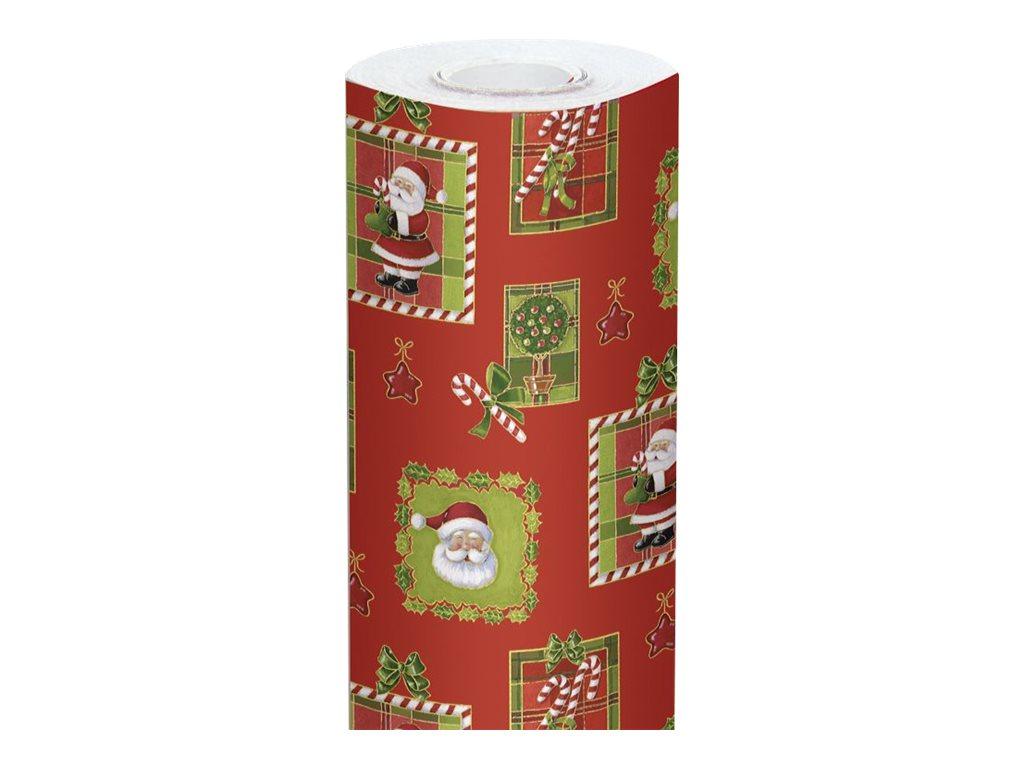 Clairefontaine Alliance - Papier cadeau - 70 cm x 50 m - 60 g/m² - motif Père Noël
