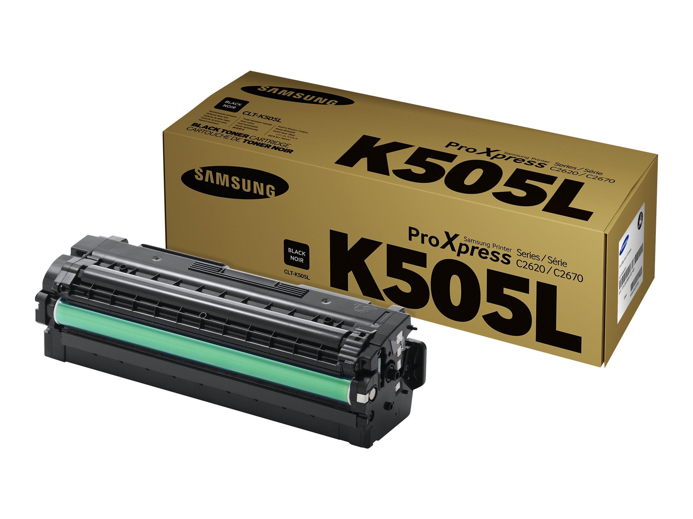 Samsung CLT-K505L - noir - cartouche laser d'origine