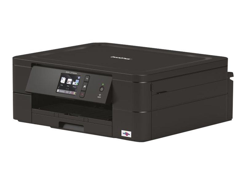 Brother DCP-J772DW - imprimante multifonctions jet d'encre couleur A4 - Wifi, USB - recto-verso - noir