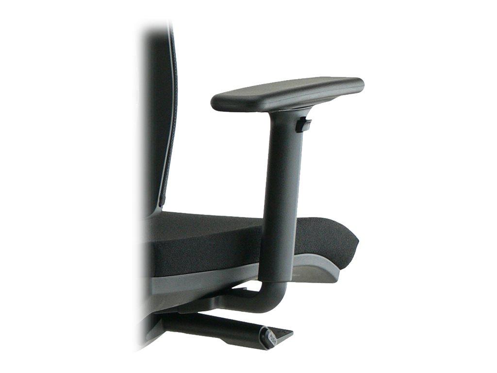 Paire d'accoudoirs réglables 2D pour fauteuil NOVE et NOVA - noir