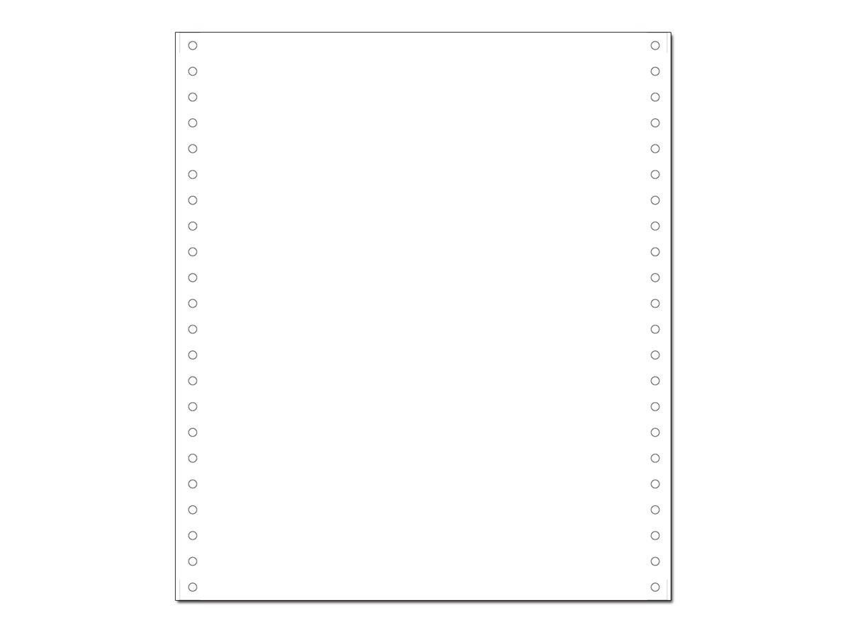 Exacompta - Papier listing blanc - 1000 feuilles 240 mm x 11