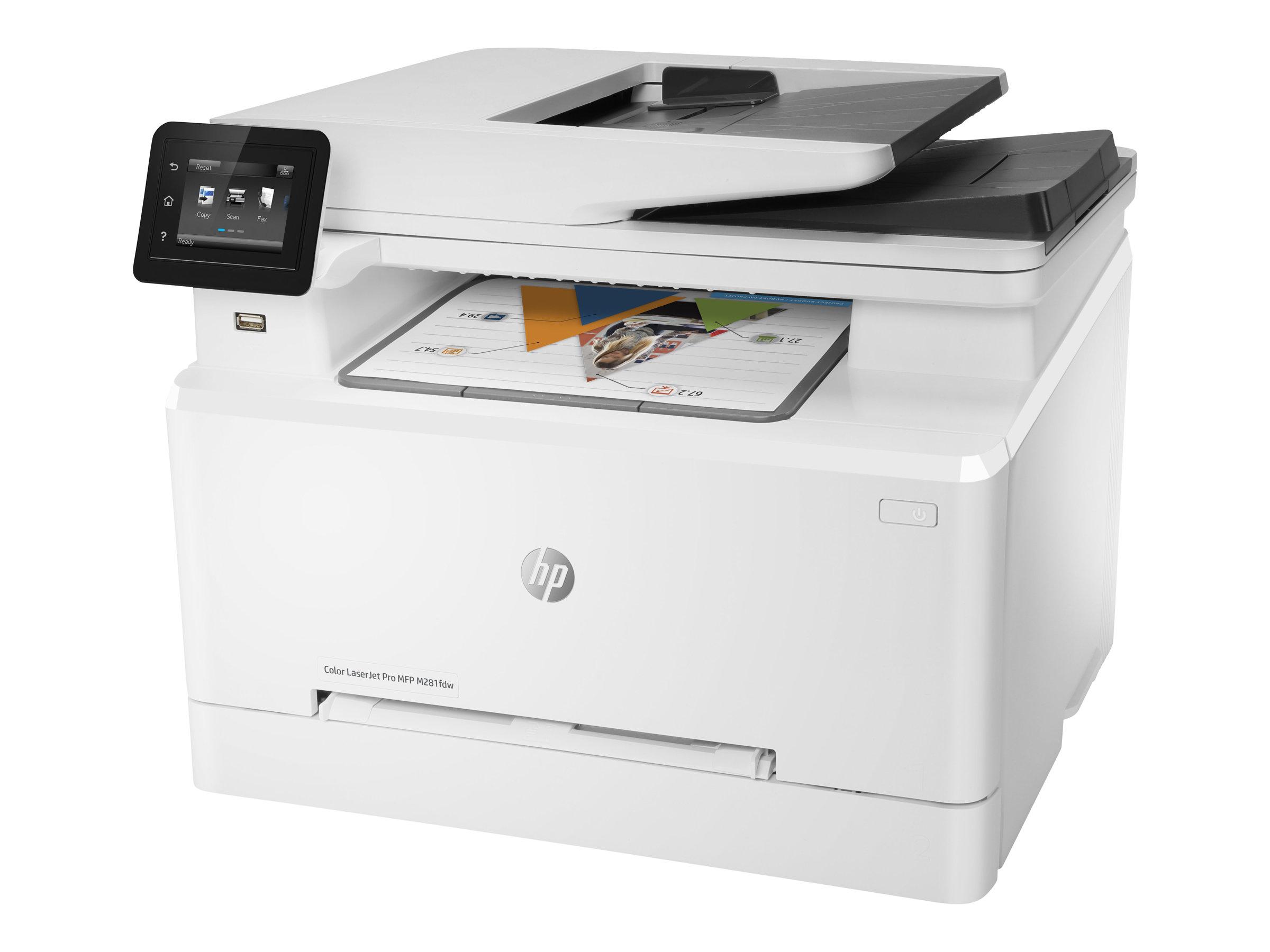 HP Color LaserJet Pro MFP M281fdw - imprimante multifonctions - couleur - laser