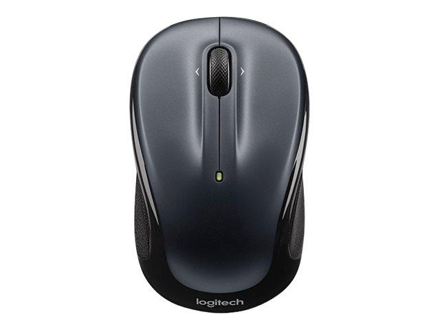 Logitech M325 - souris sans fil - gris foncé