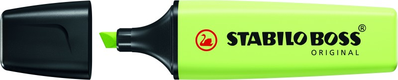 STABILO BOSS ORIGINAL Pastel - Surligneur - vert citron