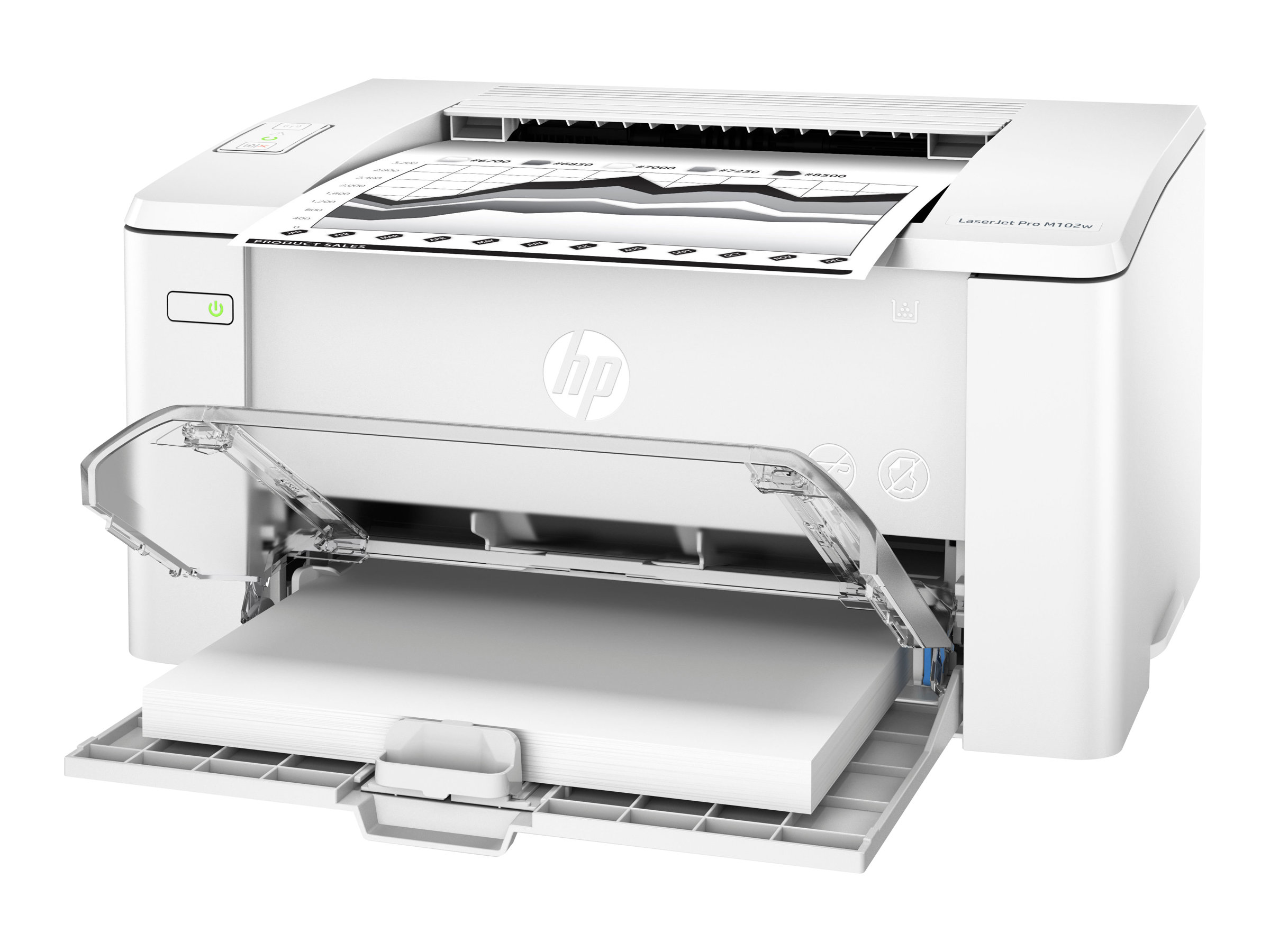 HP LaserJet Pro M102w - imprimante laser monochrome A4 - Wifi