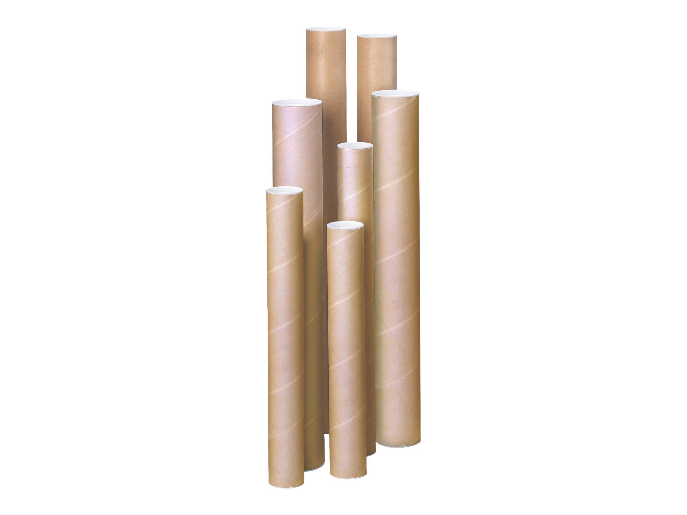 Carton Plus - Tube d'expédition rond - diamètre 45 mm x L 61 cm