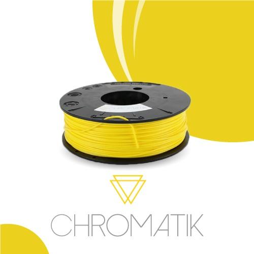 Dagoma Chromatik - filament 3D PLA - jaune citron - Ø 1,75 mm - 750g