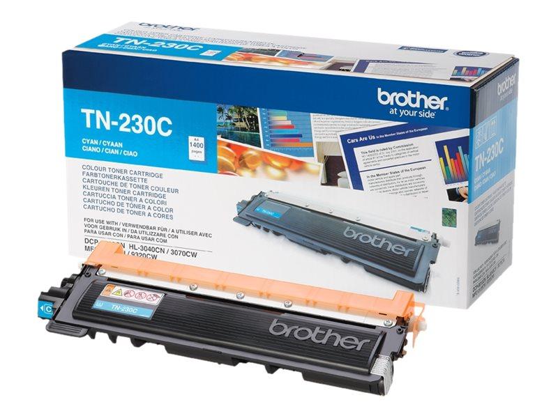 Brother TN230 - cyan - cartouche laser d'origine