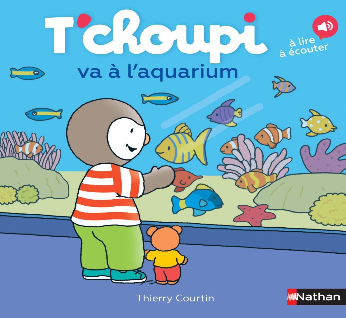 T'choupi va à l'aquarium