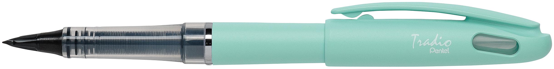 Pentel Tradio Pastel - Feutre plume - corps vert
