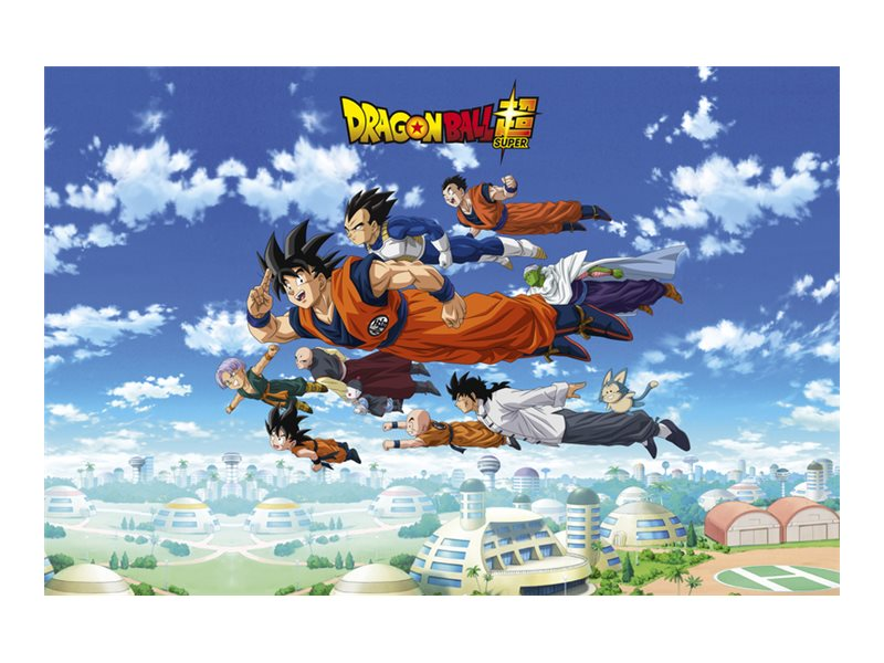 Clairefontaine Dragon Ball - Sous-main - 40 x 60 cm - bleu