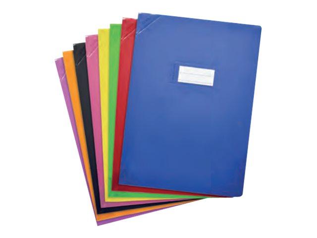 Oxford Strong Line - Protège cahier sans rabat - 17 x 22 cm - disponible dans différentes couleurs opaques
