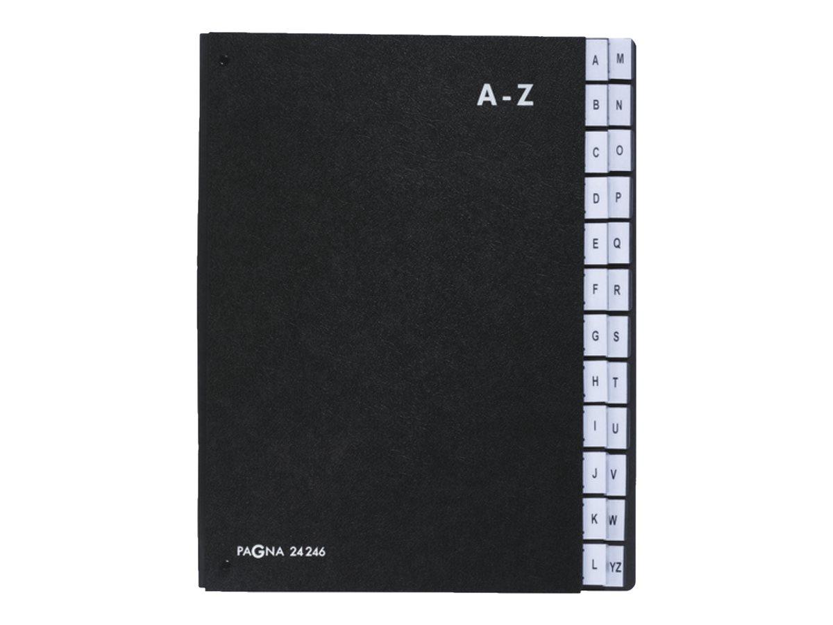 Pagna - Trieur alphabétique 24 positions - noir