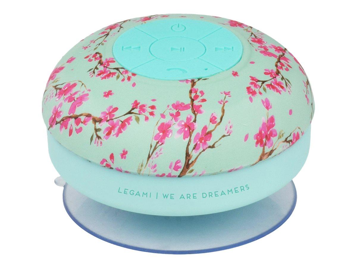 Legami - Haut-parleur bluetooth waterproof - motif bloom