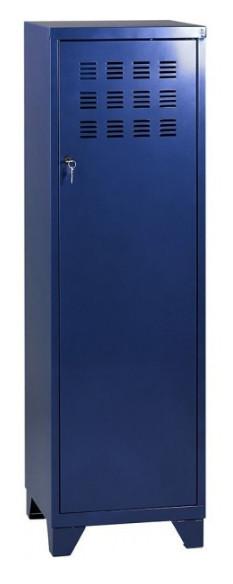 Casier de bureau avec pieds - 133 x 40 x 40 cm - bleu nuit nacré