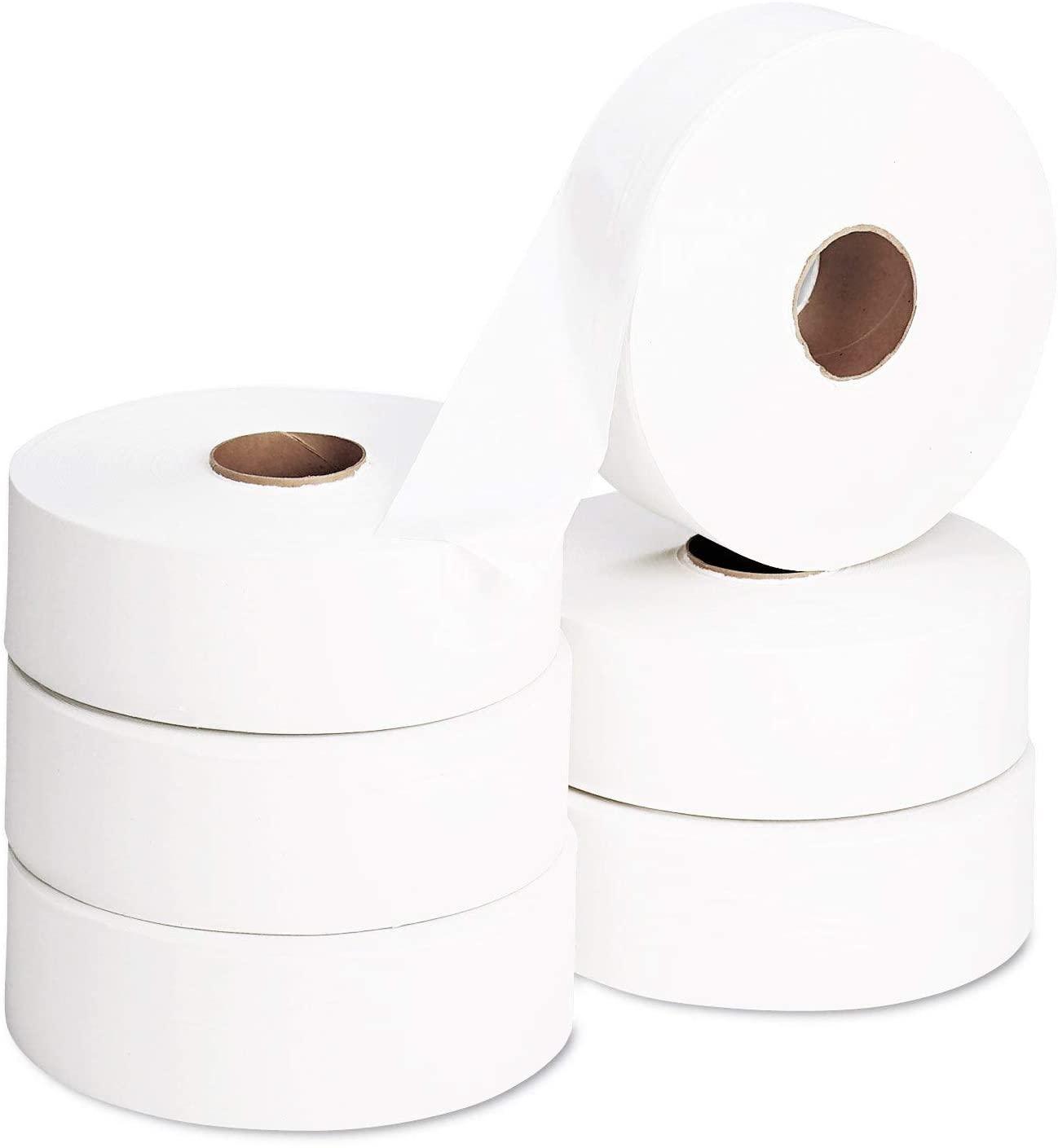 lolys maxi jumbo  papier toilette 6 rouleaux 2 plis