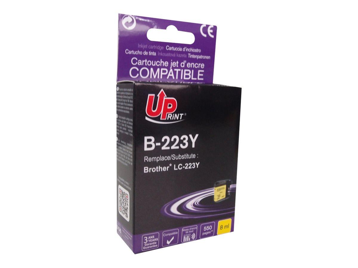 Brother LC223 - compatible UPrint B.223Y - jaune - cartouche d'encre
