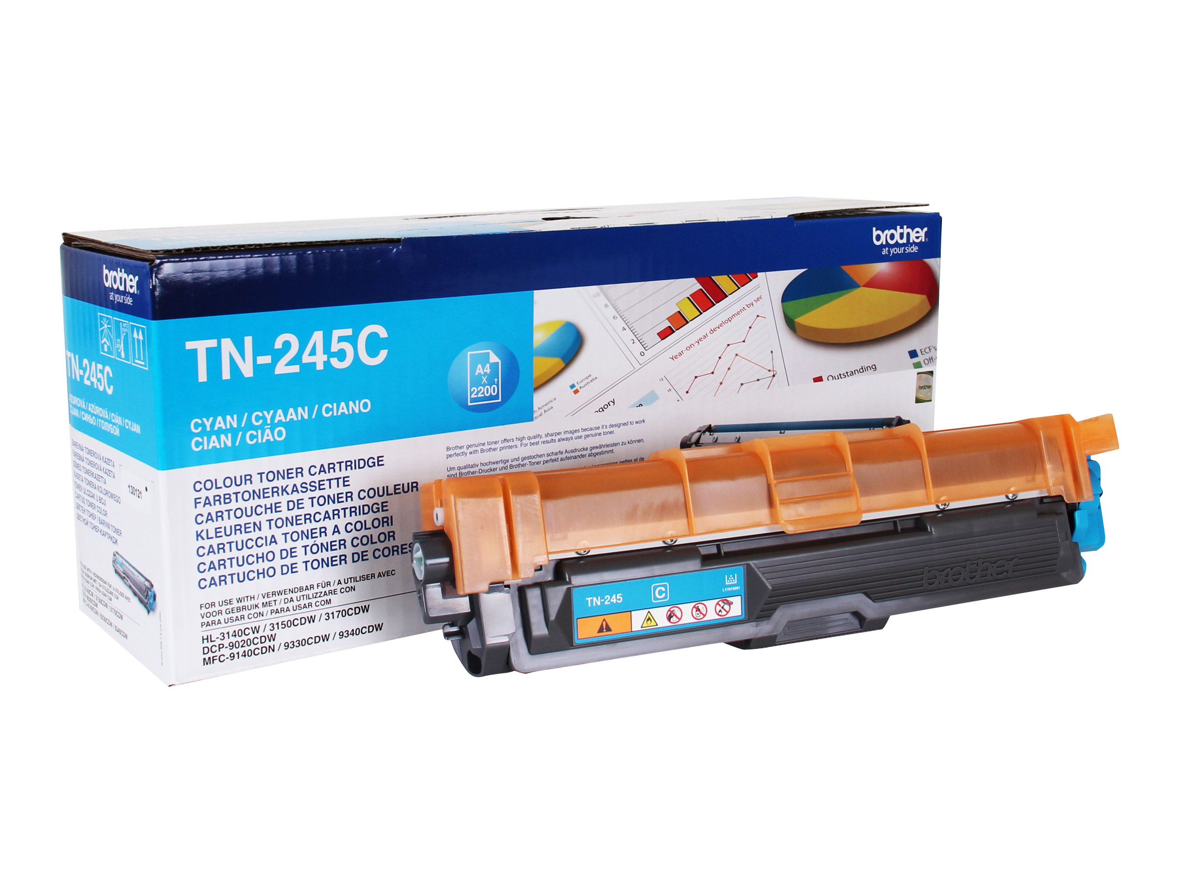 Brother TN245 - cyan - cartouche laser d'origine