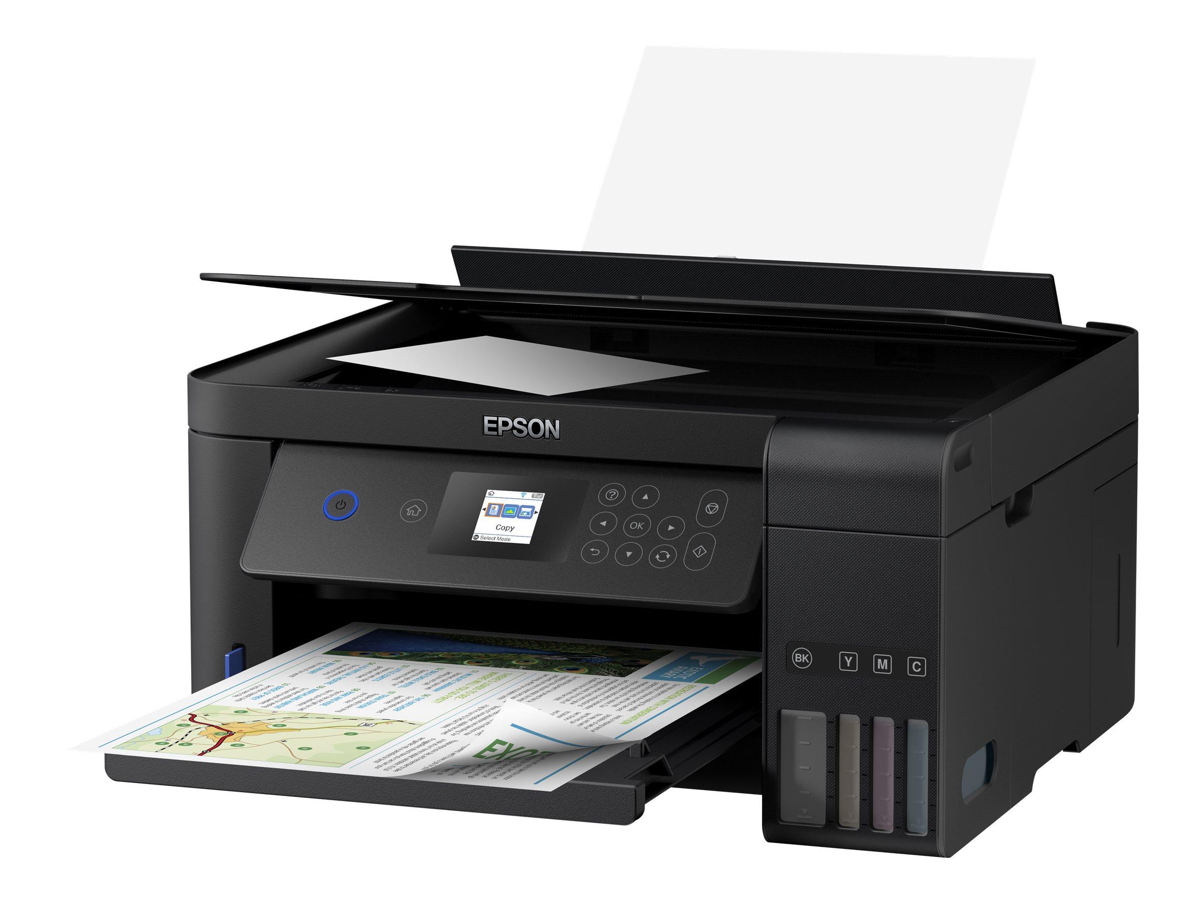 Epson EcoTank ET-2751 - imprimante multifonctions jet d'encre couleur A4 - Wifi, USB - recto-verso