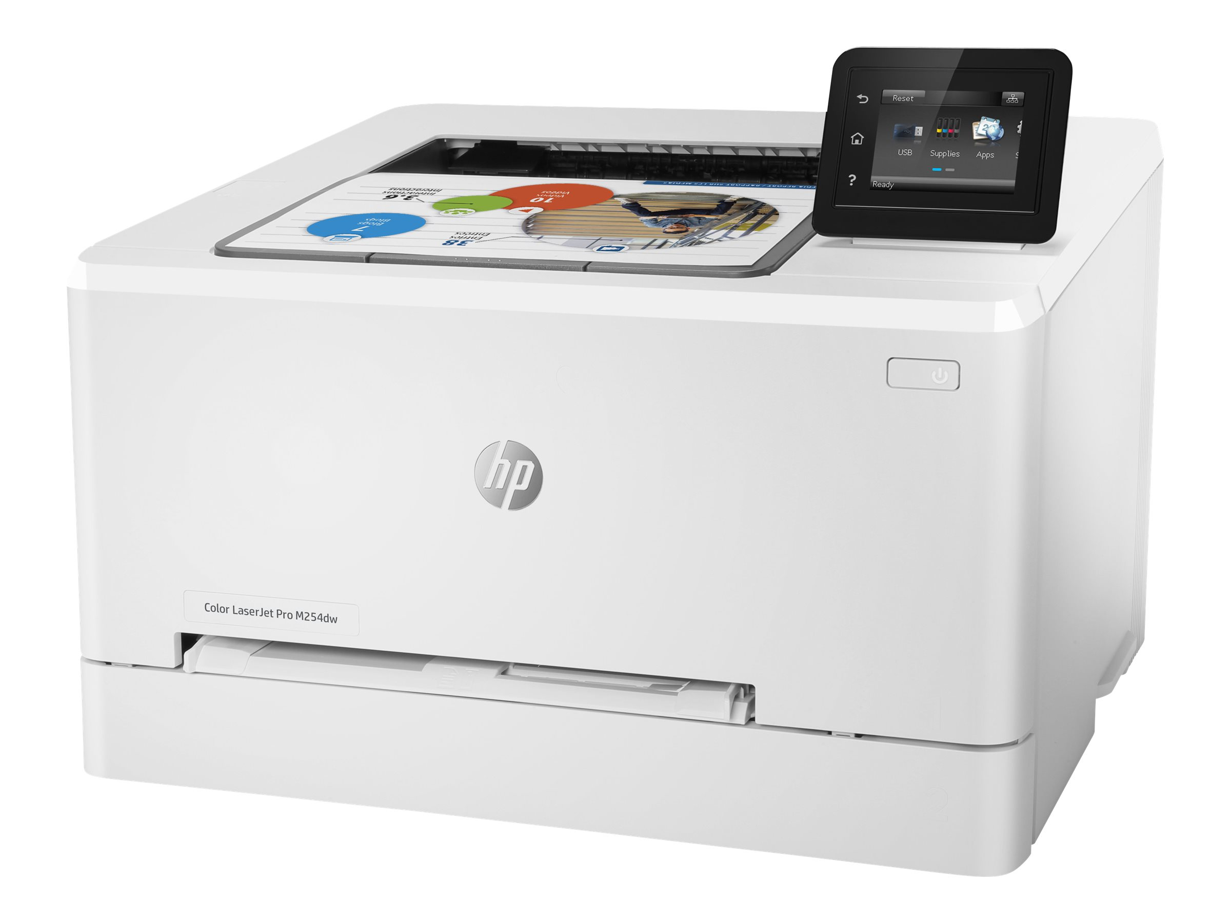 HP Color LaserJet Pro M254dw - imprimante - couleur - laser