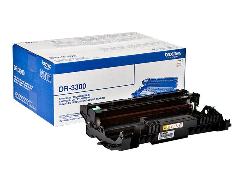 Brother DR3300 - noir - original - tambour pour imprimante