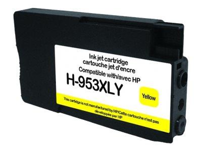 HP 953XL - remanufacturé UPrint H.953XLY - jaune - cartouche d'encre