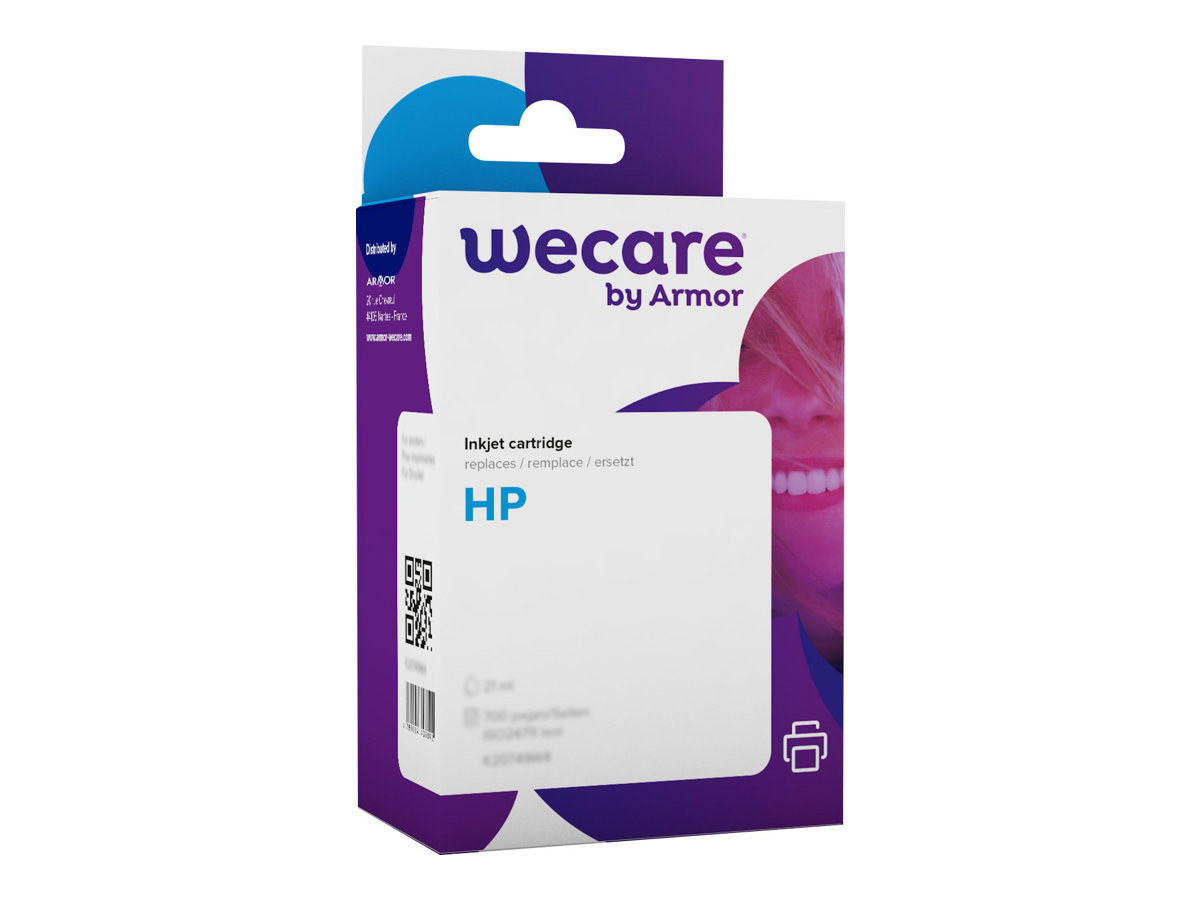 HP 17 - remanufacturé Wecare K20106W4 - cyan, magenta, jaune - cartouche d'encre