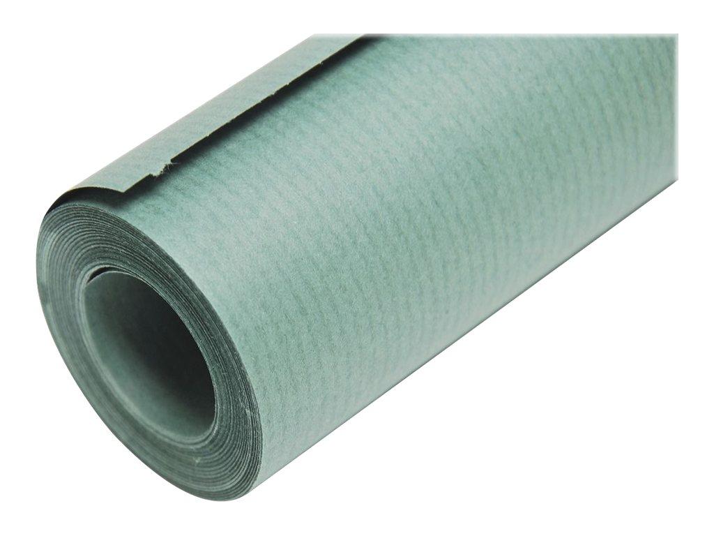 Clairefontaine - Papier cadeau kraft - 70 cm x 10 m - 65 g/m² - vert mousse