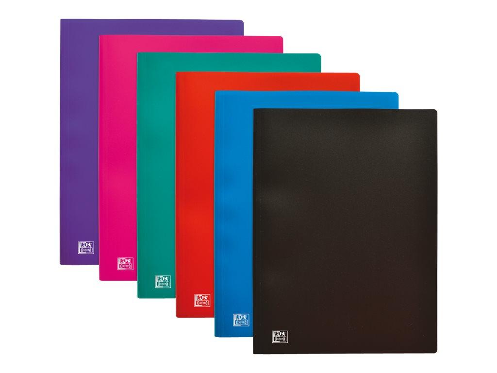 Initial - Porte vues - 100 vues - A4 - disponible dans différentes couleurs