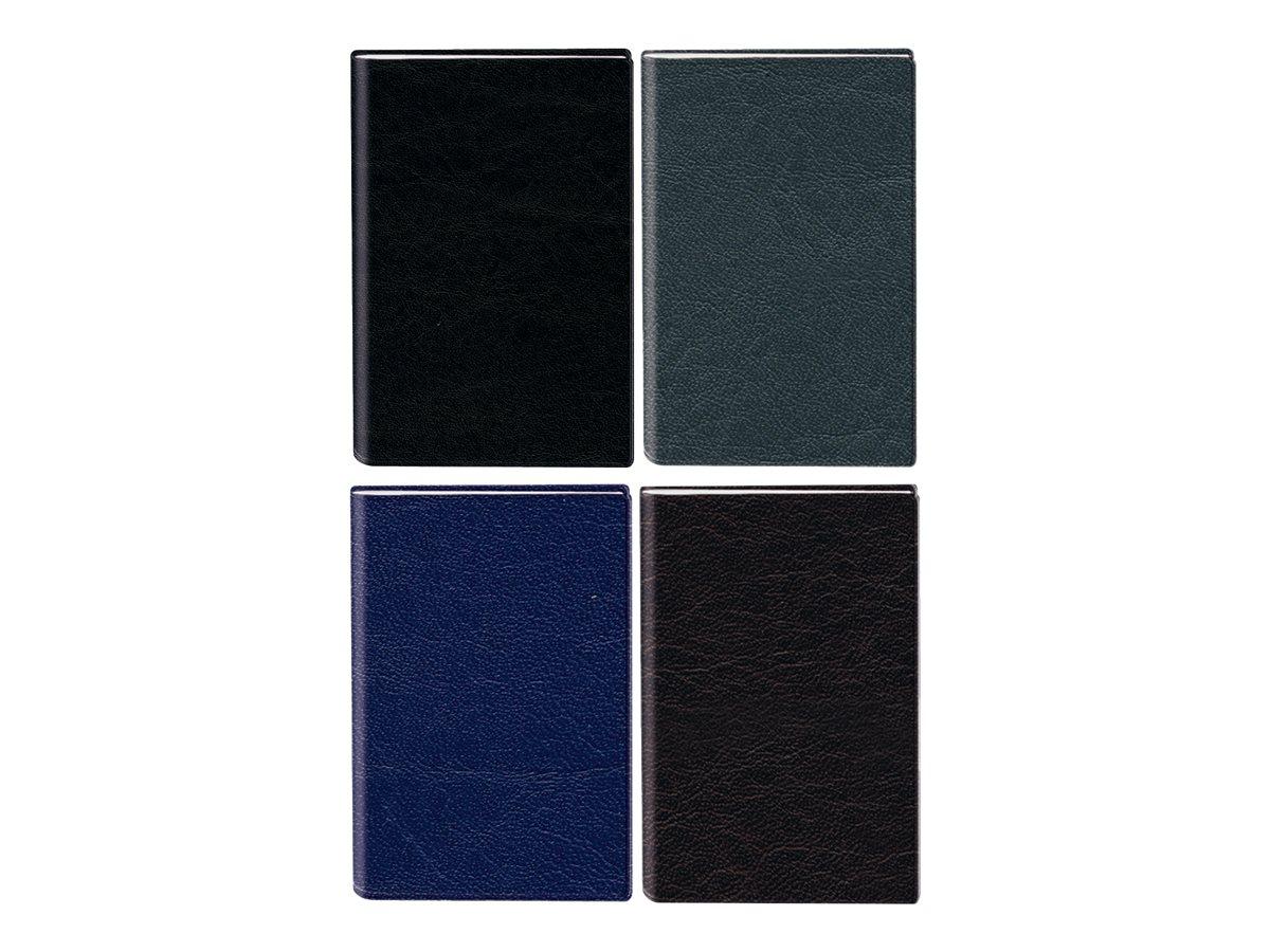 Oberthur Oslo - Répertoire Carnet d'adresses 16 x 23,5 cm - disponible dans différentes couleurs