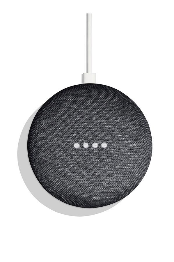 Google Home Mini charbon - enceinte intelligente reconditionnée