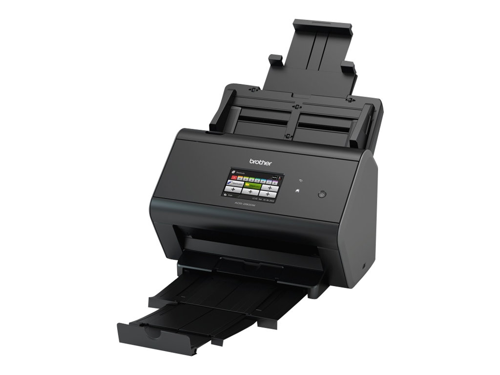 Brother ADS -2800W - scanner de documents A4 - recto-verso - USB 2.0, Wifi - 600 ppp x 600 ppp - 30ppm