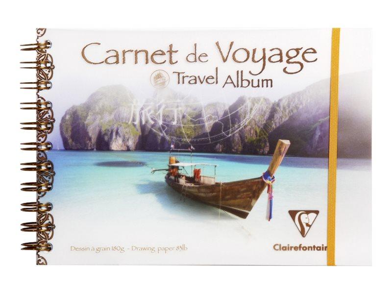 Clairefontaine - Carnet de voyage A5 - bateau