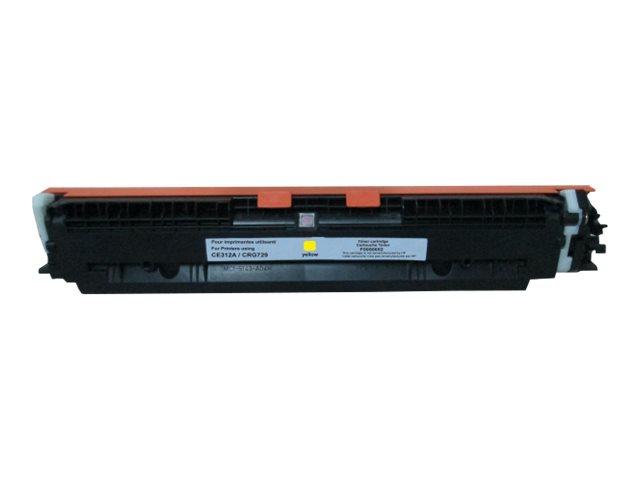 HP 126A - remanufacturé UPrint H.126AY - jaune - cartouche laser